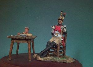 Oficial Francés del 4º de Dragones, 18  (Vista 2)