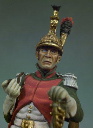Oficial Francés del 4º de Dragones, 18  (Vista 4)