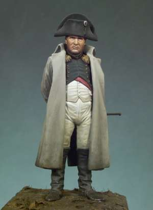 Napoleón I con abrigo  (Vista 1)