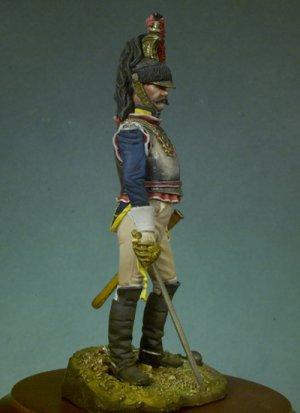 Oficial de Coraceros 1807  (Vista 2)