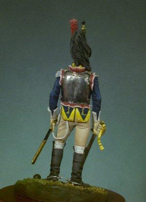 Oficial de Coraceros 1807  (Vista 3)