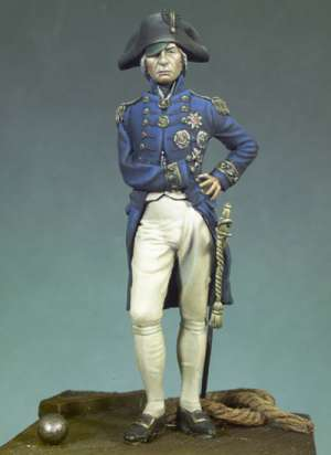 Vice-Almirante Horatio Nelson,Trafalgar  (Vista 1)
