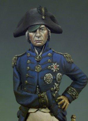 Vice-Almirante Horatio Nelson,Trafalgar  (Vista 2)