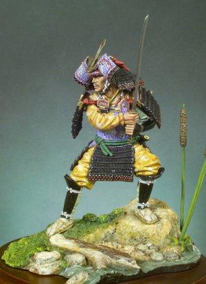 Guerrero Samurai, 1300  (Vista 2)