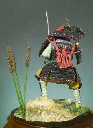 Guerrero Samurai, 1300  (Vista 3)