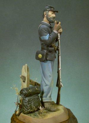 Sargento Infantería Americana, 1863  (Vista 3)
