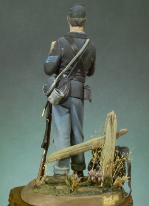 Sargento Infantería Americana, 1863  (Vista 4)