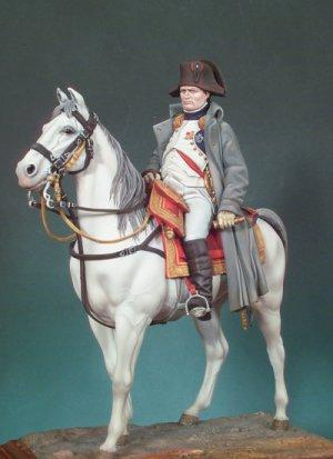 Napoleón a caballo  (Vista 1)