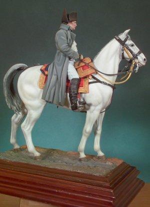 Napoleón a caballo  (Vista 3)