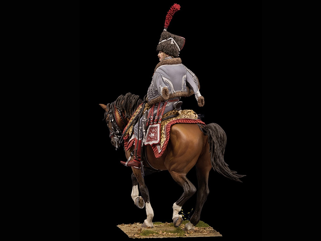 Capitan de Hussars, 1806  (Vista 2)