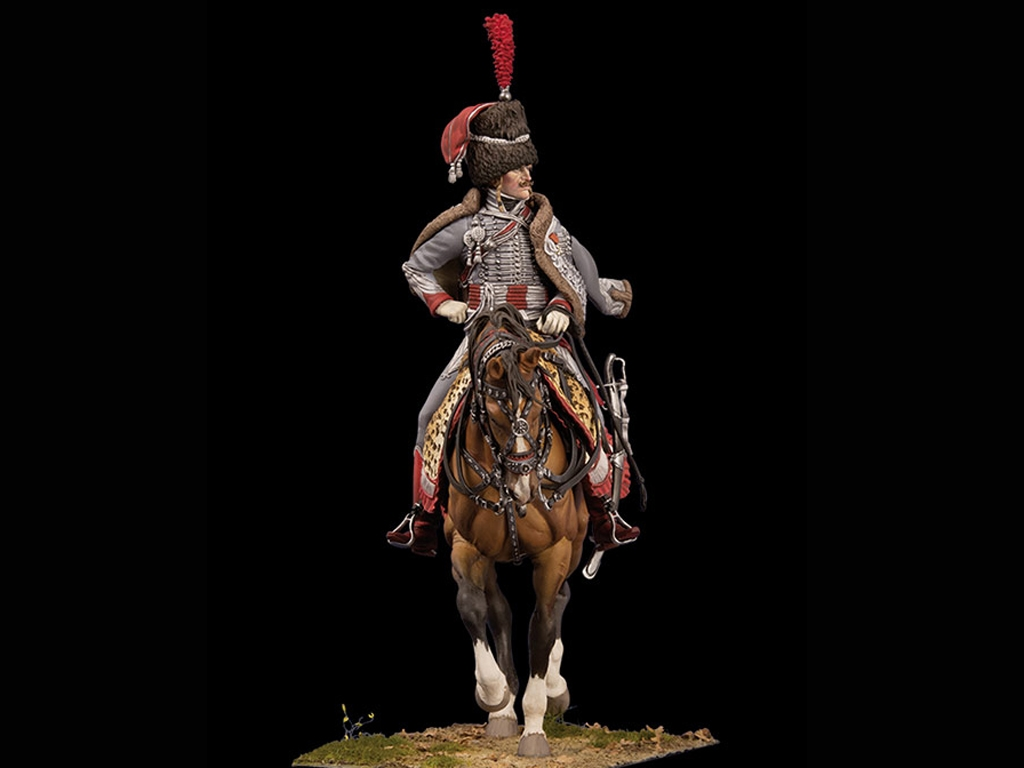 Capitan de Hussars, 1806  (Vista 4)