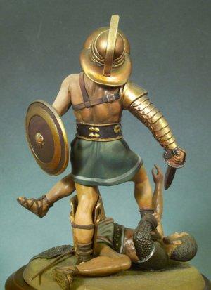Gladiadores pulgares abajo, 100 D.C.  (Vista 2)