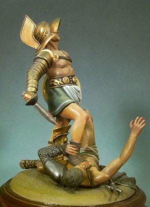 Gladiadores pulgares abajo, 100 D.C.  (Vista 3)