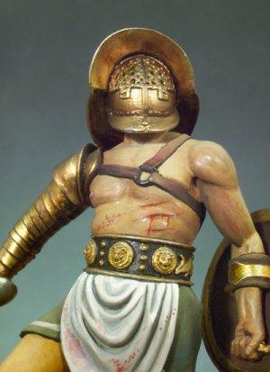 Gladiadores pulgares abajo, 100 D.C.  (Vista 4)