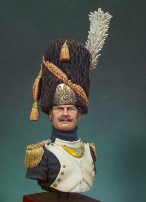 Granadero de la Guardia Imperial ,Mayor  (Vista 1)