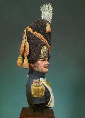 Granadero de la Guardia Imperial ,Mayor  (Vista 2)