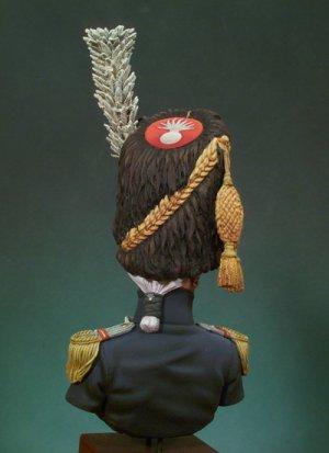 Granadero de la Guardia Imperial ,Mayor  (Vista 3)