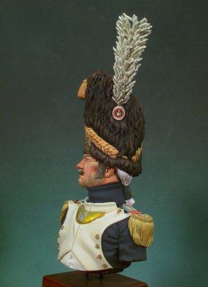 Granadero de la Guardia Imperial ,Mayor  (Vista 4)