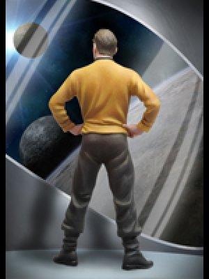 Capitan de la nave espacial  (Vista 3)