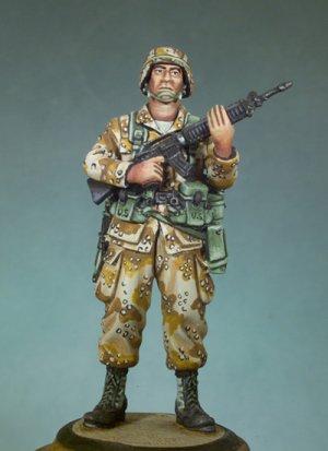 Infante US Guerra del Golfo, 1991  (Vista 1)