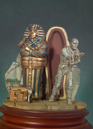 La momia egipcia  (Vista 1)