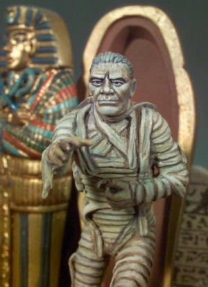 La momia egipcia  (Vista 2)