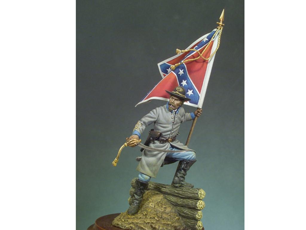 Oficial Confederado, 1862  (Vista 1)