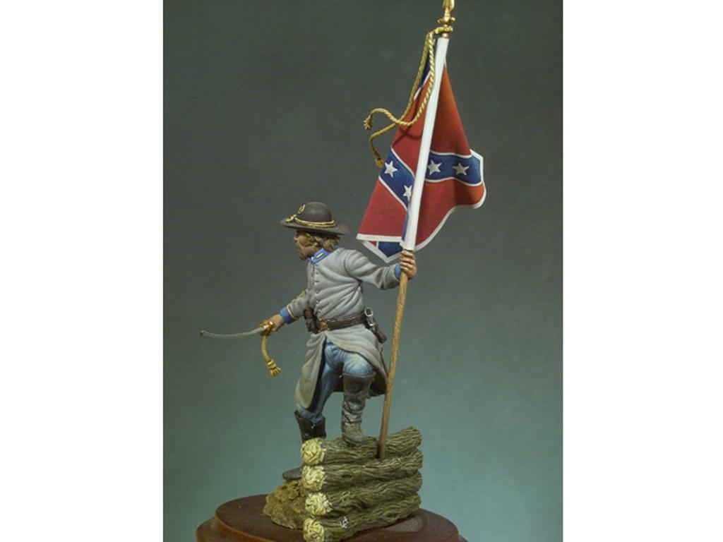 Oficial Confederado, 1862  (Vista 2)