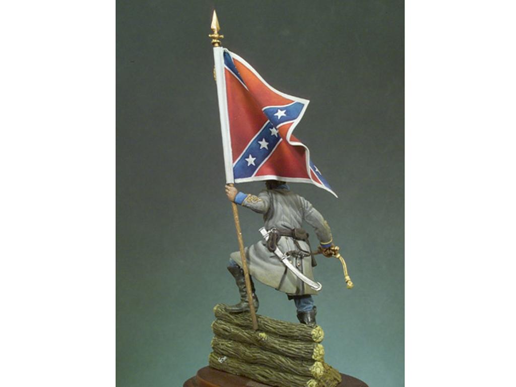 Oficial Confederado, 1862  (Vista 3)