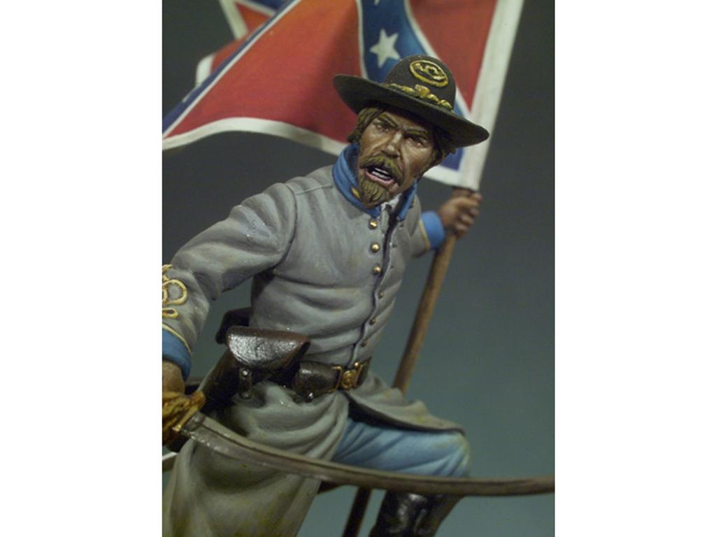 Oficial Confederado, 1862  (Vista 4)