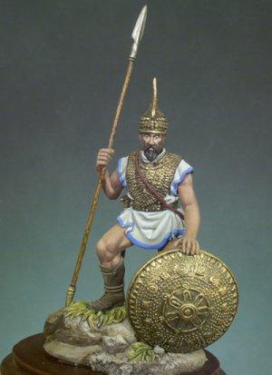 Guerrero Etrusco 700 A.C.  (Vista 1)