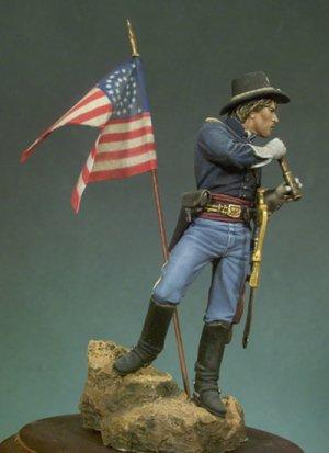 Teniente de caballería John J. Dumba  (Vista 3)