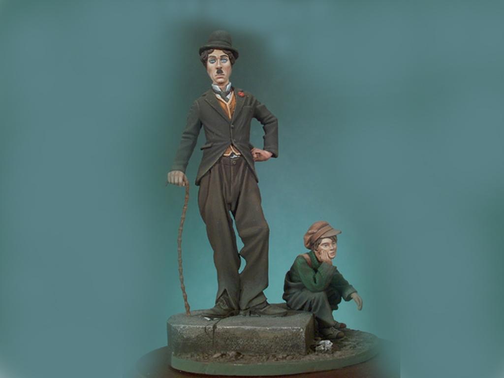 El chico y el vagabundo  (Vista 1)