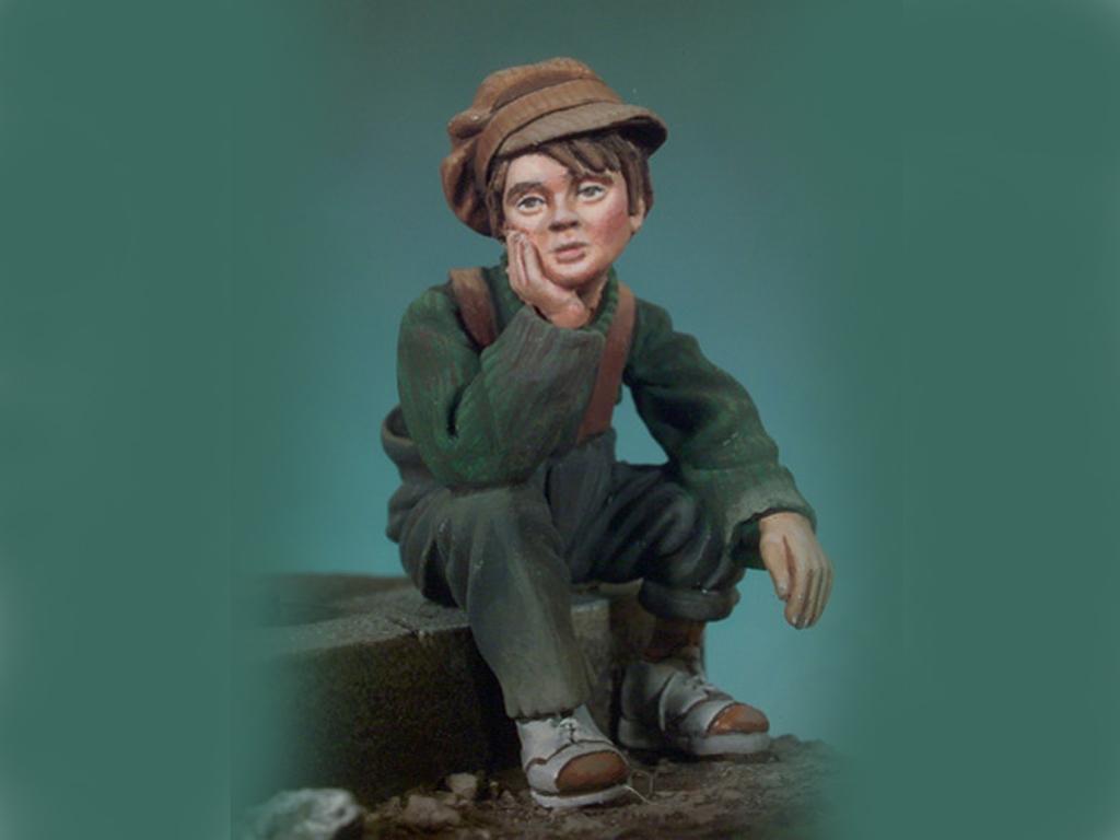 El chico y el vagabundo  (Vista 2)