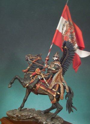 Husar alado Polaco 1670  (Vista 1)