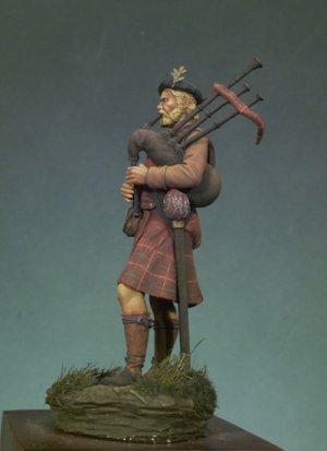 Gaitero escocés 1690  (Vista 2)