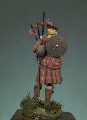 Gaitero escocés 1690  (Vista 4)