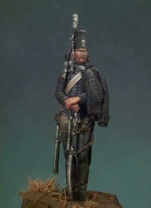 Husar de la Muerte Prusiano 1762  (Vista 1)