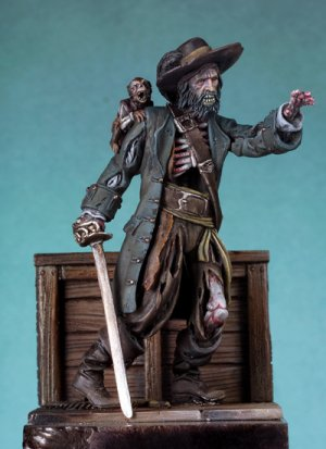Pirata Zombie  (Vista 1)