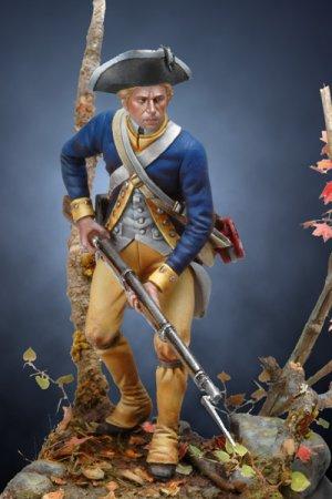 Soldado revolucionario Americano de infa  (Vista 1)