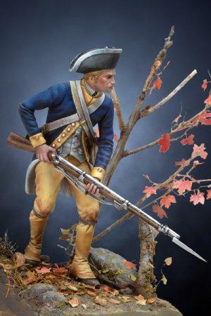 Soldado revolucionario Americano de infa  (Vista 2)