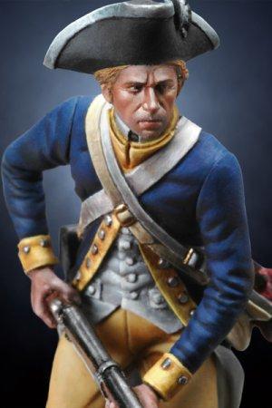 Soldado revolucionario Americano de infa  (Vista 3)