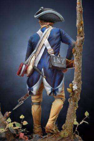 Soldado revolucionario Americano de infa  (Vista 4)