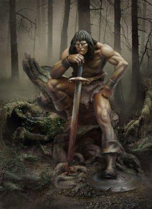 El Rey Cimerio  (Vista 1)