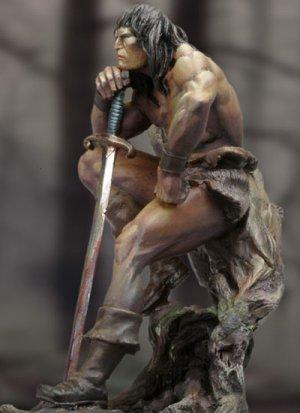 El Rey Cimerio  (Vista 2)