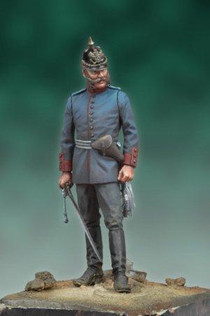 Oficial Prusiano, 1878  (Vista 1)