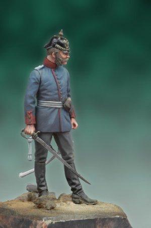 Oficial Prusiano, 1878  (Vista 2)