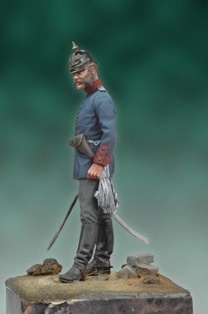Oficial Prusiano, 1878  (Vista 3)