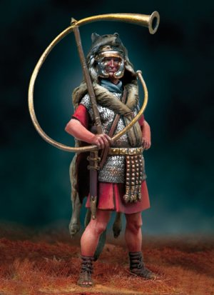 Cornicen, 125 d.C - Ref.: ANDR-SGF146
