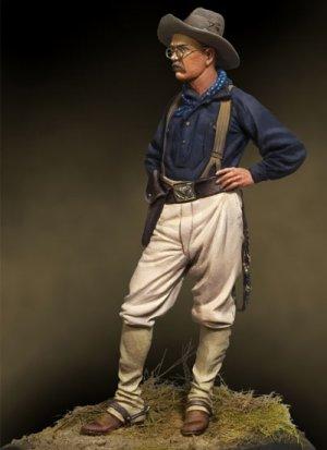 Teddy Roosvelt, 1898  (Vista 4)